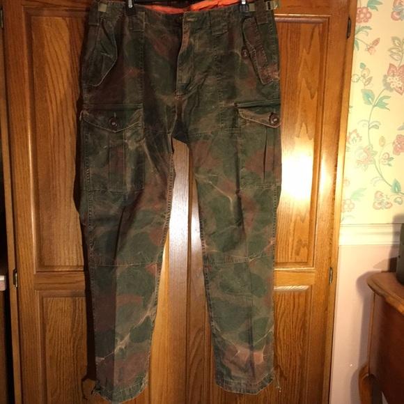 Men's Vintage Cargo Pants 36x30